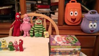 Kiana's Yo Gabba Gabba! DVD Collection