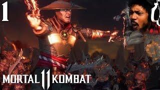 THIS STORY MODE IS STARTING OFF INSANE   Mortal Kombat 11 #1