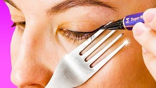 25 نصيحة مذهلة باستعمال الملاعق و شوكات الطعام