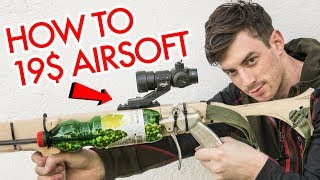 How To Build An Overpowered Airsoft Gun for 19$
