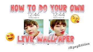 HOW TO - LIVE WALLPAPER (IPHONES)