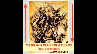 Demons Created Humans & Mother of All Demons is Matter, Archons & Secret Book of John, Nag Hammadi