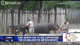 Fort Worth zoo asks supporters for $10 million