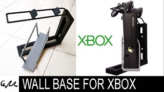 DIY Extreme wall base for xbox