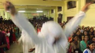 Funny Dance Performance by 3rd year B.com students(2014-2017)of mac ramapuram