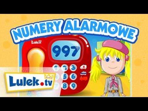 Numery alarmowe Wiem ile zjem Film edukacyjny dla dzieci Lulek.tv