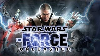Star Wars The Force Unleashed all cutscenes HD GAME