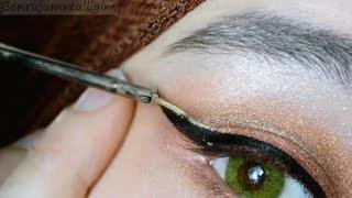 Bakır Tonlarda Göz Makyajı 💗 Elegance - Giallo