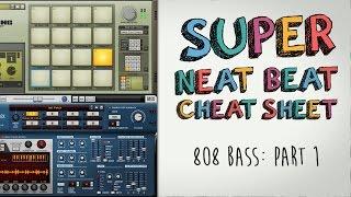 808 Bass Lines: Super Neat Beat Cheat Sheet