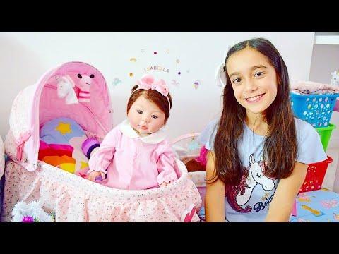 TOUR PELO QUARTO DA MINHA BEBÊ REBORN ★ Conhecendo o cantinho que montei para minha boneca Isabella