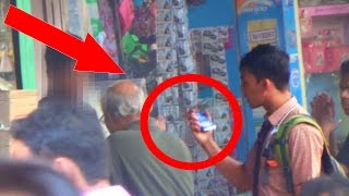 Kid Buys Condom Social Experiment n Prank in India