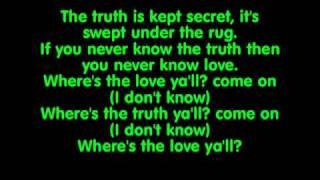 Black Eyed Peas: Where is The Love Lyrics