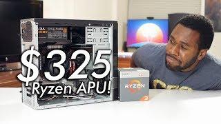 Brand New $325 / £325 Ryzen Gaming PC ft. Ryzen 3 2200G APU!