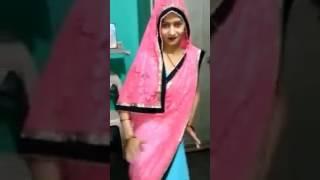 सपना का सुपर डांस in saree.      tu cheez lazbab song