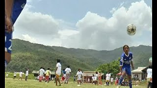 FOOTBALL TOURNAMENT HELD IN MANIPUR TO PROMOTE NATIONAL INTEGRATION