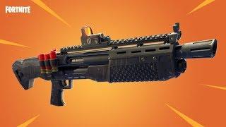 NEW Heavy Shotgun! Is It OP Or Does It SUCK!? Fortnite Battle Royale Heavy Shotgun Gameplay