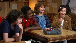 Stranger Things Kid Stars Interview