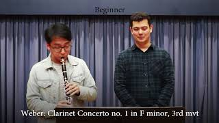 Professional Vs Beginner Clarinet