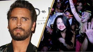 Scott Disick CREEPING on Selena Gomez at Her Birthday Party!?
