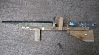 Homemade BB Gun- BB Rifle, Semi automatic, Pressurised air, NO GAS NEEDED, Powerful