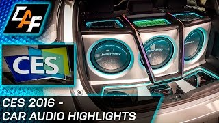 CES 2016 - Best Car Audio Tech! and MORE