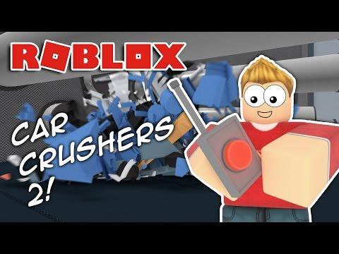 CRUSHING CARS Roblox