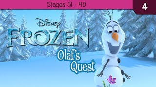 Disney Frozen: Olafs Quest - Stages 31 - 40