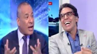 ضحك محمد ناصر علي طريقة استقبال أحمد موسي في محكمة الدستورية