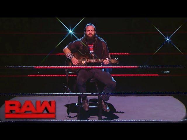 Elias dedicates a song to Braun Strowman: Raw, Feb. 26, 2018