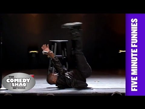 Kevin Hart⎢Watching People Fall is Funny⎢Shaq's Five Minute Funnies⎢Comedy Shaq