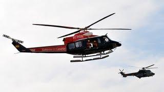 Fotos - Simulacro accidente de avión en Telde, Gran Canaria - SAR Emergencias