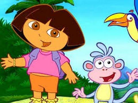 Dora Aventureira festa do pijama Desenhos animados