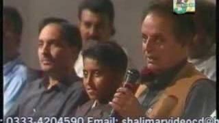 talk with Atta Ullah Khan and Mustansar Hussain