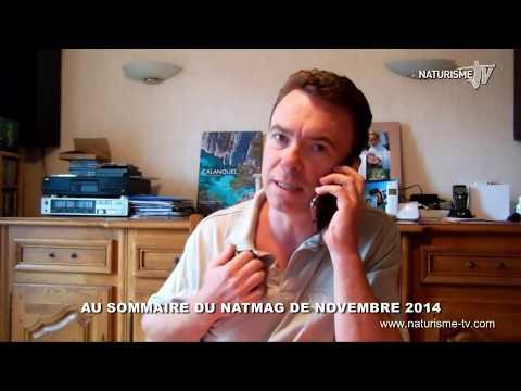 Vidéo Naturisme TV Natmag 33 Novembre 2014 La bande annonce