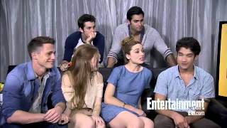 Teen Wolf Cast Interview - Comic Con 2012 (EW.com)