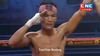 គីម វាសានា (Cam) ប៉ះ ម៉ូហ៊ីន (Thai), Khmer Boxing 2019