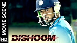 Viraj makes India win | Dishoom | Movie Scene