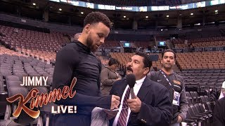 Guillermo At NBA Media Day 2019