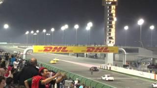 مغاربة في قطر يحتفلون بإنجاز مهدي بناني في بطولة العالم للسيارات السياحية