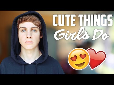 5 Things Girls Do That Guys Find Attractive Or Cute