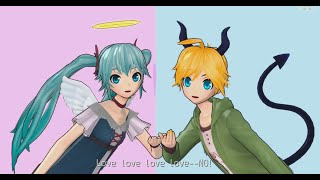 Two-Faced Lovers - [Len x Miku] Cover
