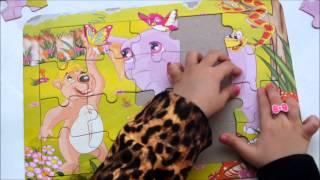 Animal, hayvan Make A Puzzle Yapboz Yapımı