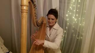 We Wish You a Merry Christmas - Harp Instrumental