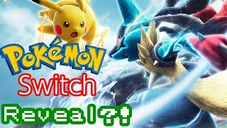 Pokemon Switch Reveal Incoming?