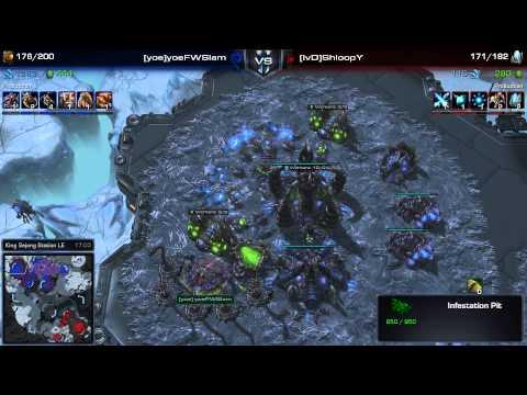 SC2 - Daily Masters - PvZ - puCK vs Slam