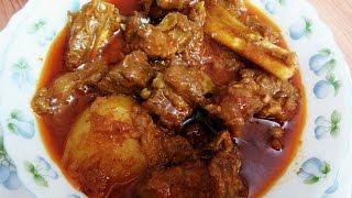 How to Prepare Authentic Bengali Mutton Curry Recipe   Kosha Khashir Mangsho