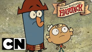 The Marvelous Misadventures of Flapjack - Plant Man (Clip 1)