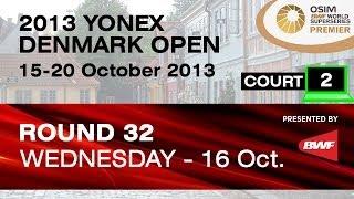 R32 (Court 2) - WS - Michelle Chan Ky vs Ratchanok Intanon - 2013 Yonex Denmark Open