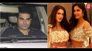 Arbaaz Khan Dines Out With His Friends | Katrina