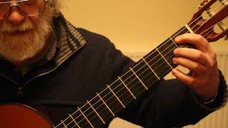 STUDY IN A Major Op.60 by Matteo Carcassi Guitar Tutorial